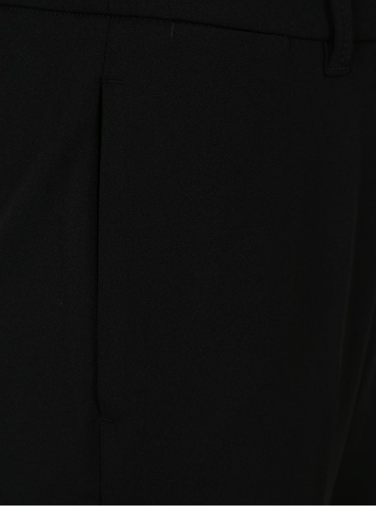 Pantaloni conici negri pentru femei - s.Oliver