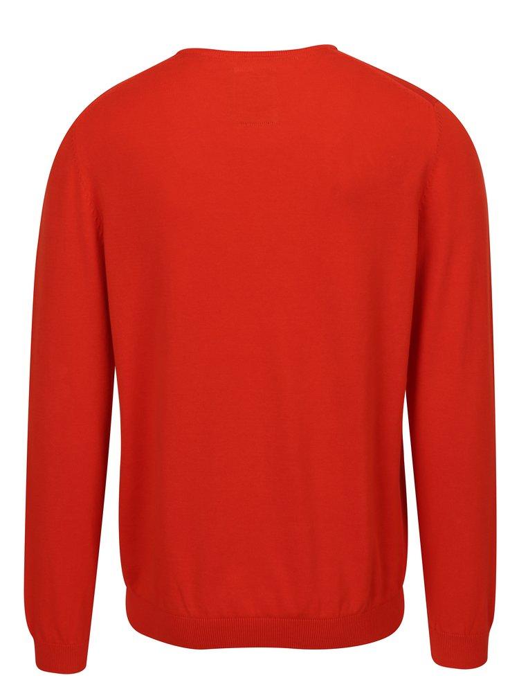 Červený pánský svetr s.Oliver