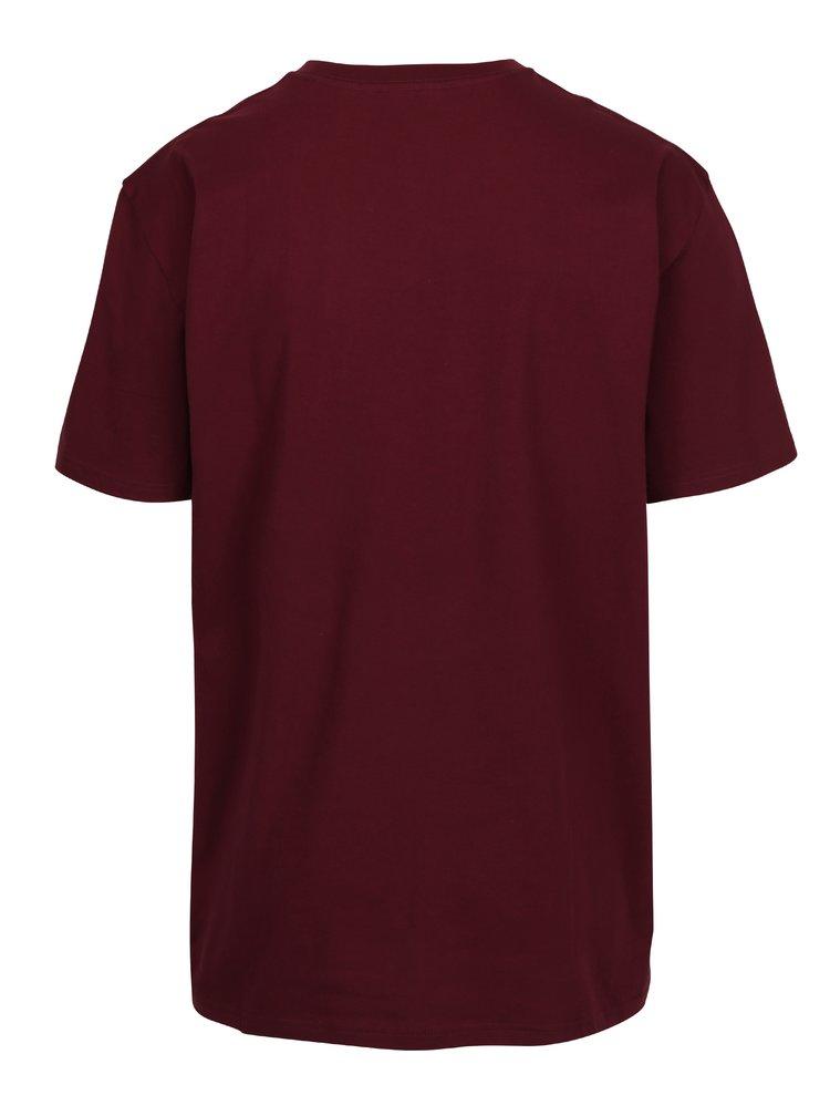Tricou bordo din bumbac cu logo pentru barbati - VANS Classic