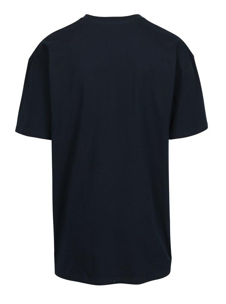 Tricou albastru din bumbac cu logo pentru barbati - VANS Classic