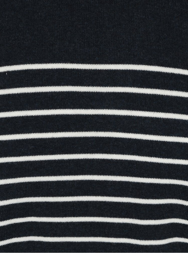Tmavě modrý pruhovaný svetr ONLY & SONS Alex