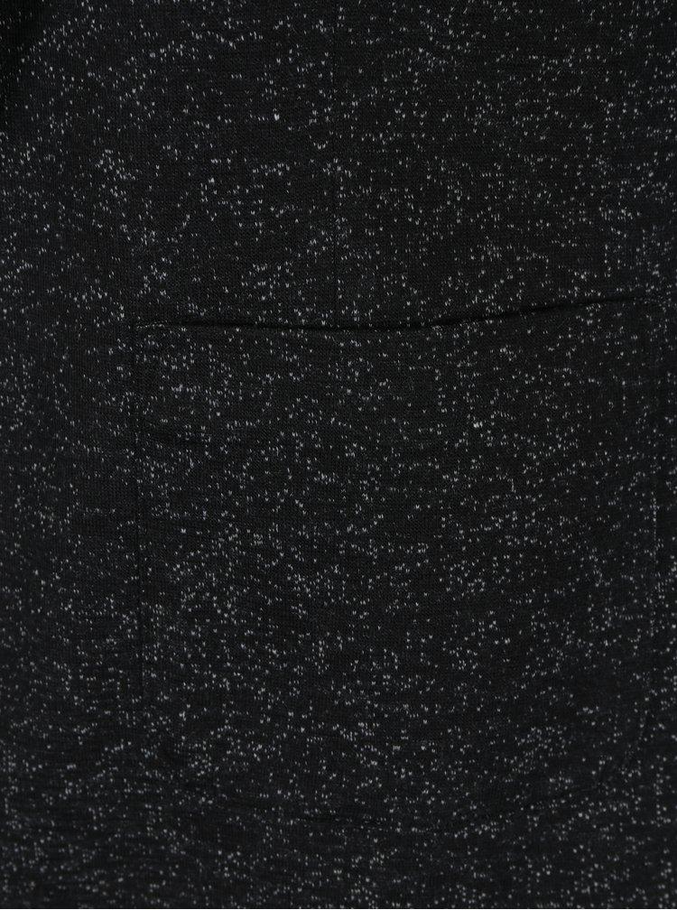 Tmavě šedé žíhané sako VERO MODA Daisy