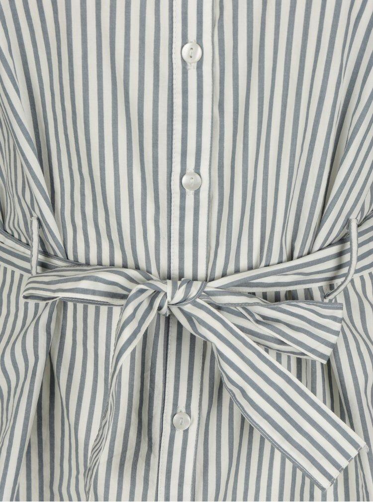 Modro-bílá pruhovaná halenka VERO MODA Natasha