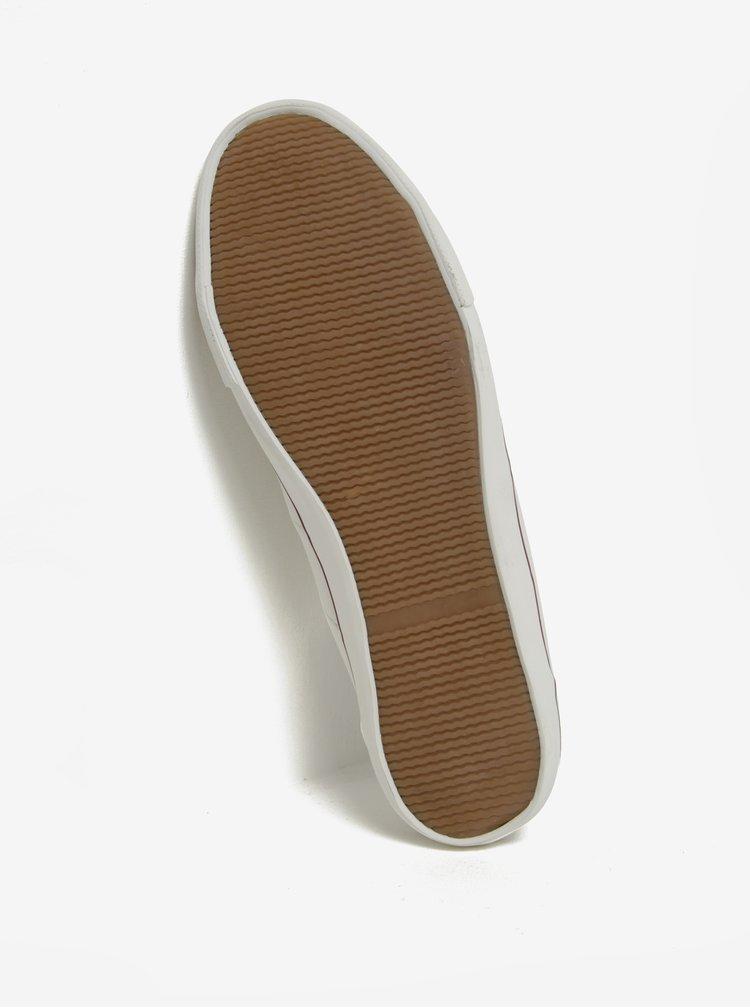 Pantofi sport crem Burton Menswear London