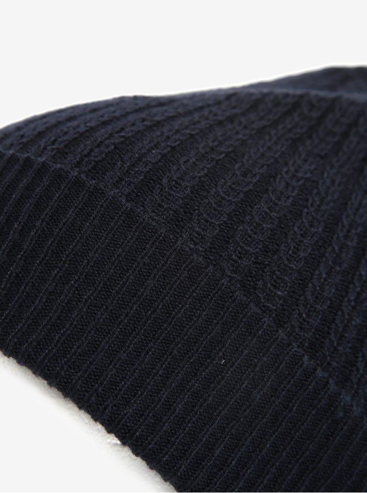 Tmavě modrá čepice Burton Menswear London