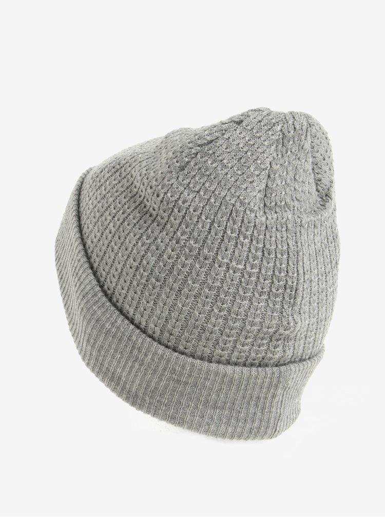 Caciula tricotata gri  Burton Menswear London