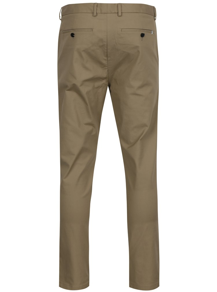 Pantaloni chino bej Burton Menswear London