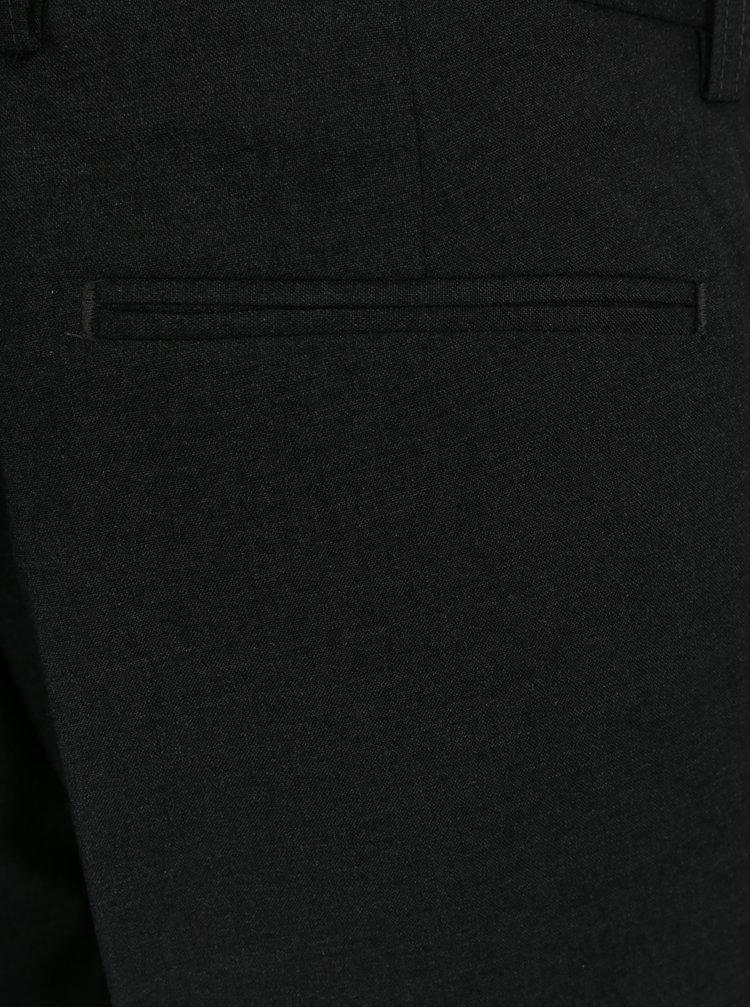 Šedé slim fit kalhoty Burton Menswear London