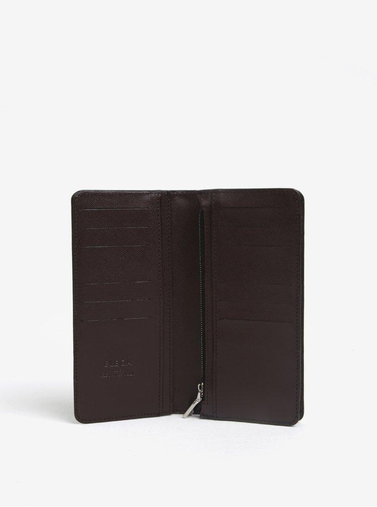 Hnědá dámská kožená peněženka ELEGA Amina