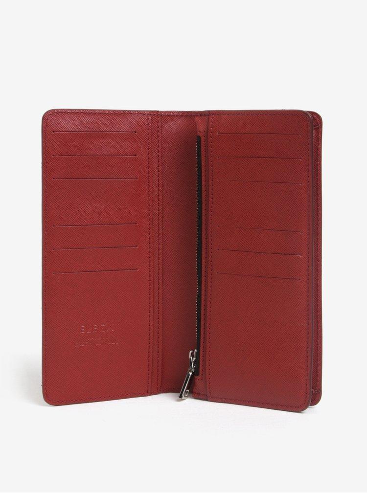 Červená dámská kožená peněženka ELEGA Amina
