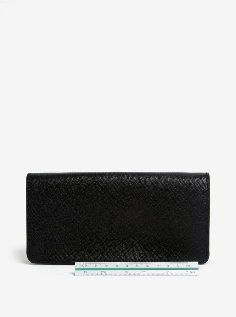 Černá dámská kožená peněženka ELEGA Amina