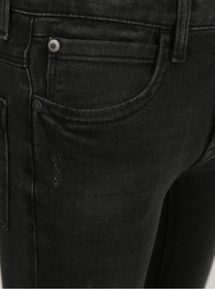 Tmavě šedé klučičí skinny džíny LIMITED by name it Pilou