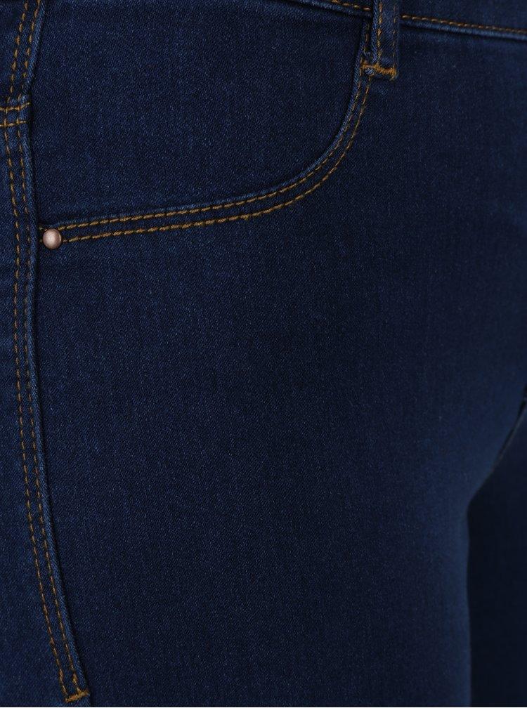 Tmavě modré super skinny zkrácené džíny Dorothy Perkins Frankie