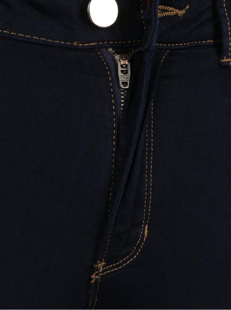 Tmavě modré super skinny džíny Dorothy Perkins Bailey