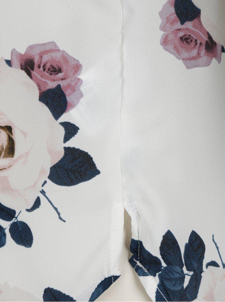 Krémová květovaná halenka Haily´s Alea
