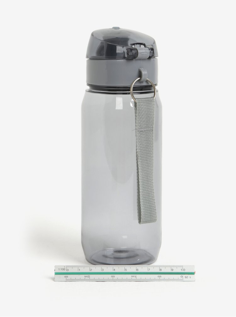 Sticla de apa gri cu sistem etans - Loooqs
