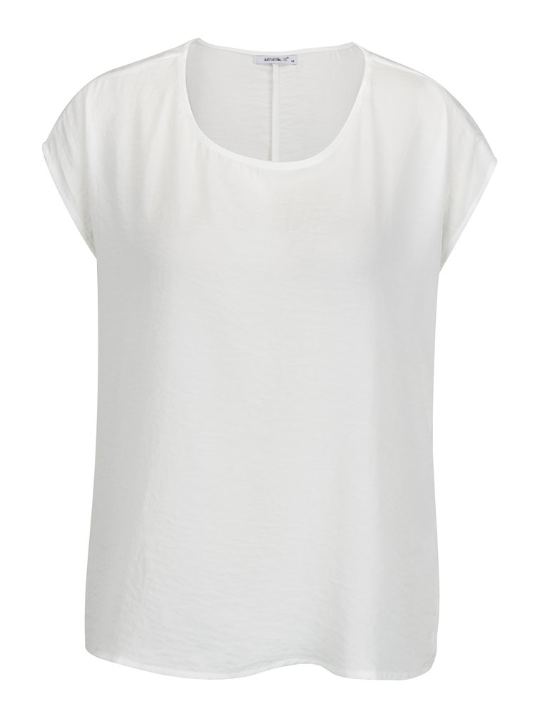 Bluza crem cu terminatie asimetrica -  Haily´s Enie