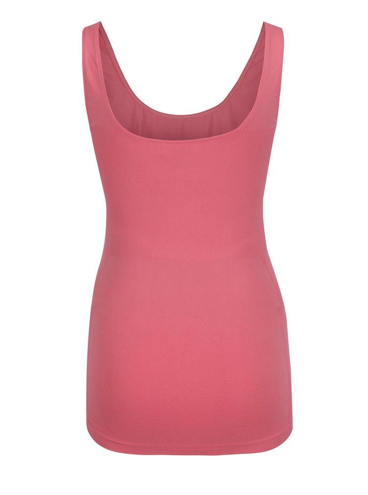Top roz cu detalii elastice pentru femei insarcinate - Mama.licious Heal