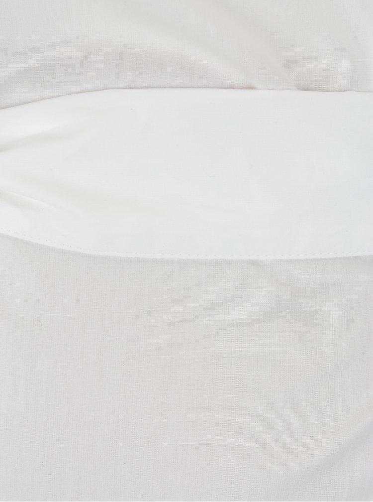 Krémová těhotenská halenka se zavazováním v pase Mama.licious Celine
