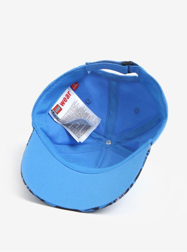 Modrá klučičí čepice s výšivkou Lego Wear Carlos