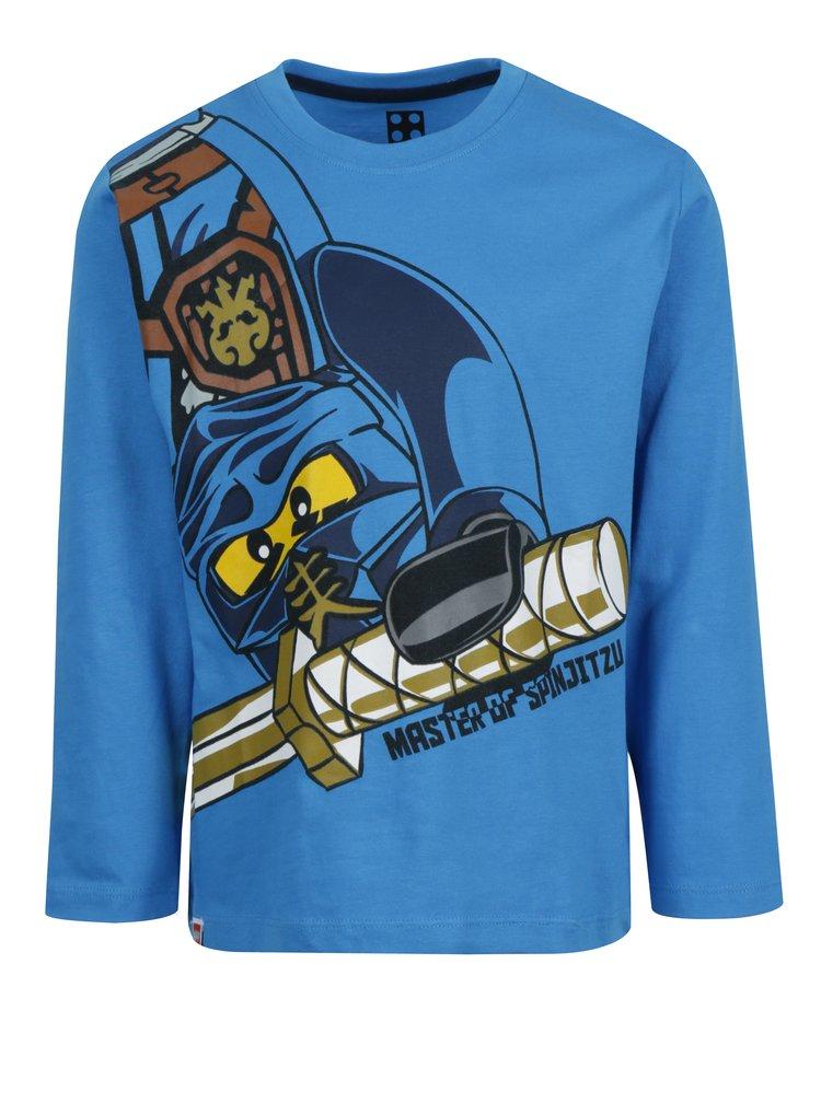 Modré klučičí tričko s potiskem Lego Wear