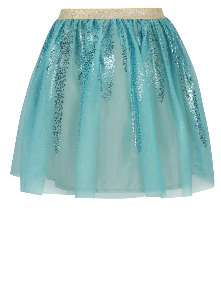 Světle modrá holčičí sukně 5.10.15.