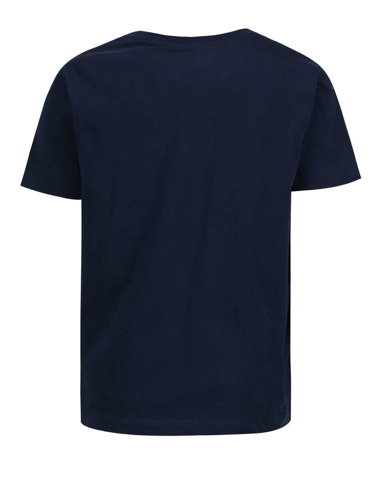 Tmavě modré klučičí tričko s krátkým rukávem Lego Wear