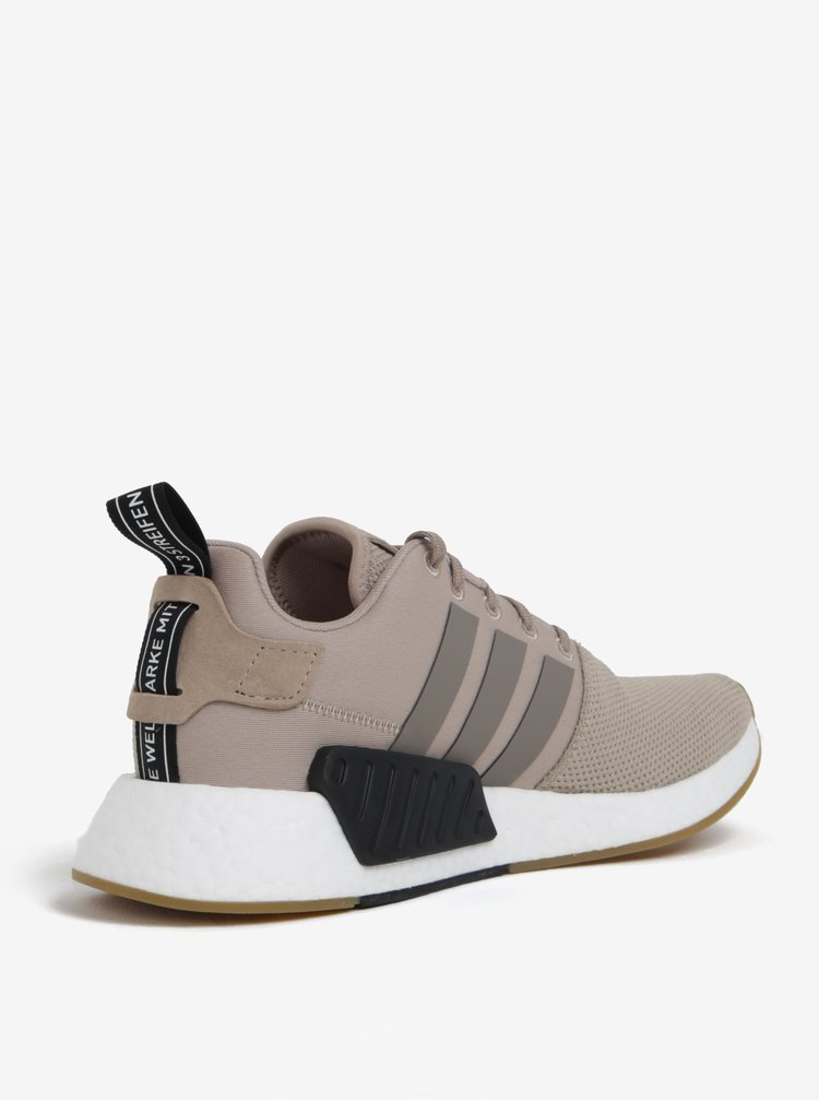 Pantofi sport bej pentru barbati - adidas Originals NMD R2
