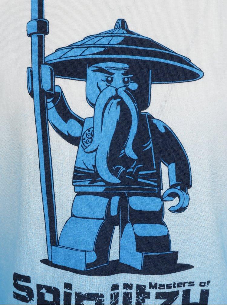 Bílo-modré klučičí tričko s krátkým rukávem Lego Wear Thomas