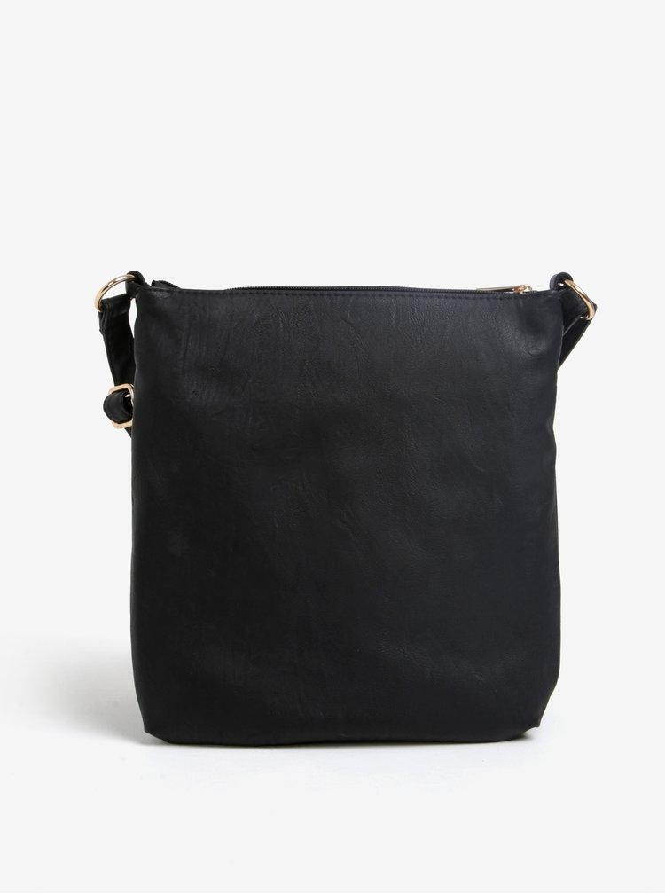Černá crossbody kabelka M&Co