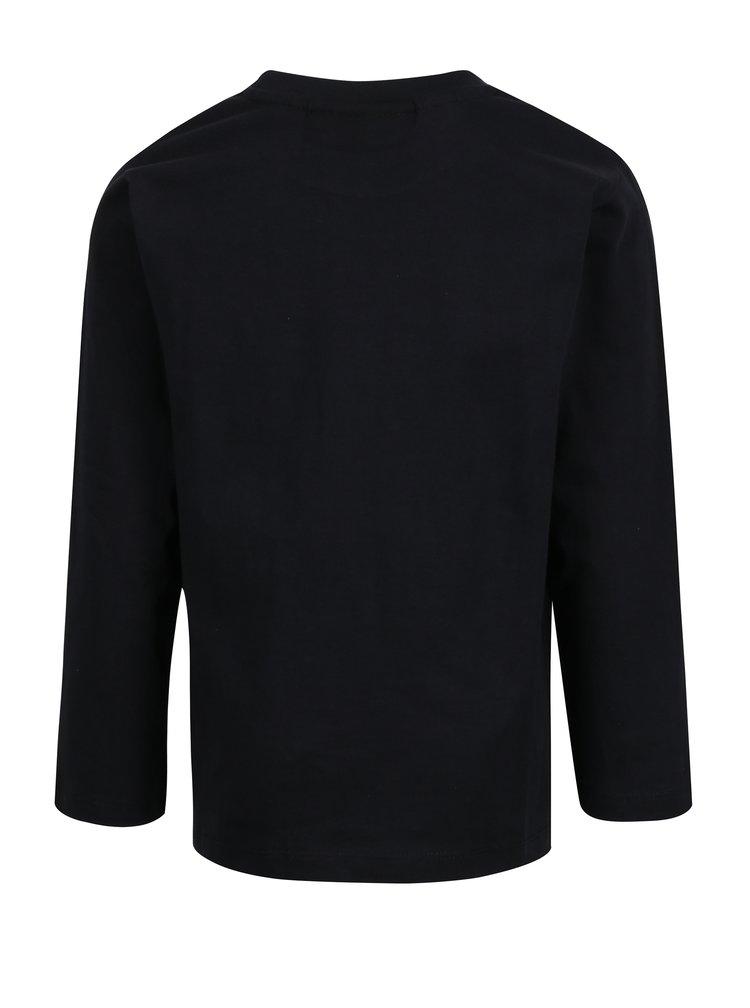 Černé klučičí tričko s dlouhým rukávem Lego Wear