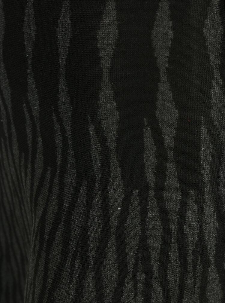 Šedo-černá vzorovaná minisukně Apricot