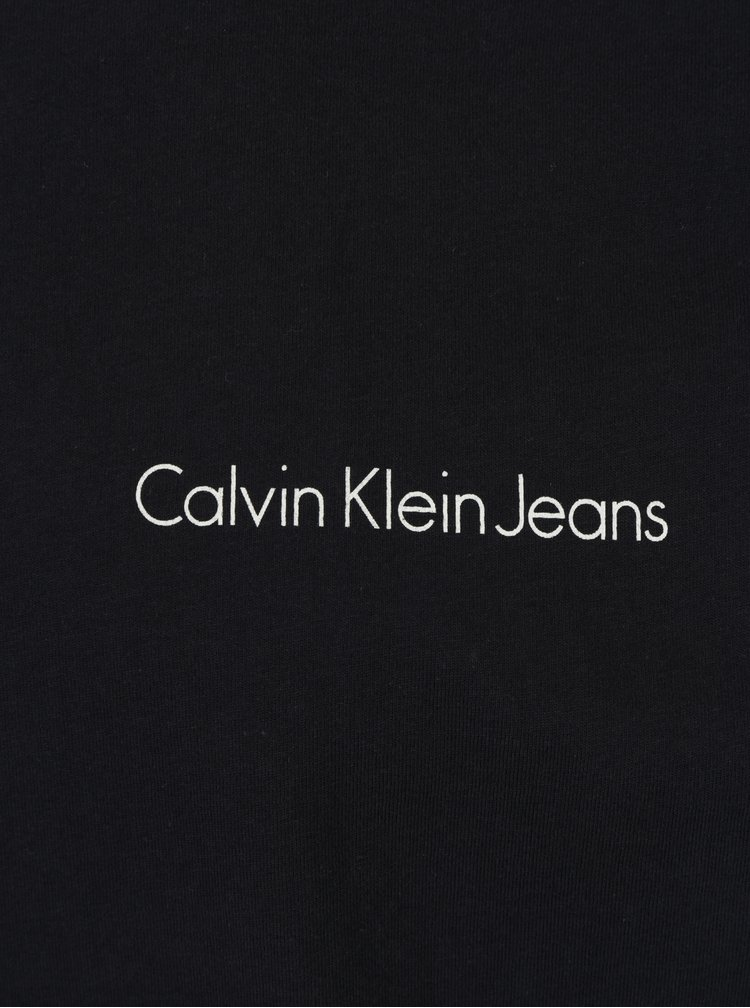 Tmavě modré pánské slim fit tričko Calvin Klein Jeans Tiboro