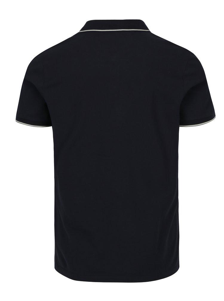 Tmavě modré pánské polo tričko Calvin Klein Jeans Paul