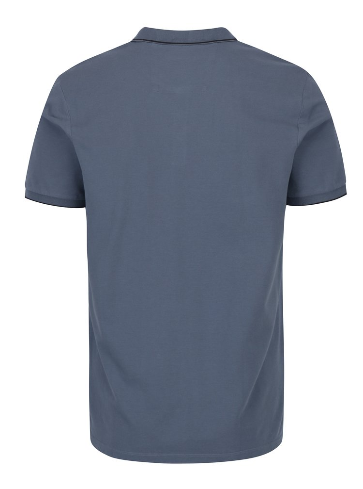 Modré pánské polo tričko Calvin Klein Jeans Paul