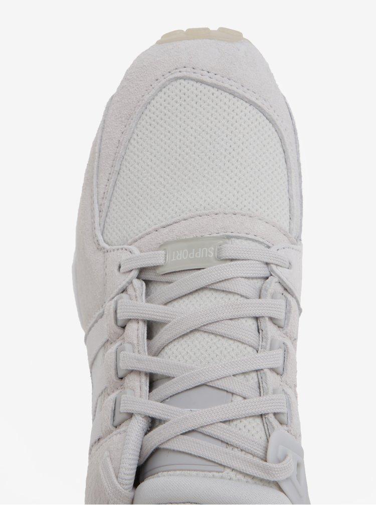 Světle šedé dámské tenisky adidas Originals EQT Support RF