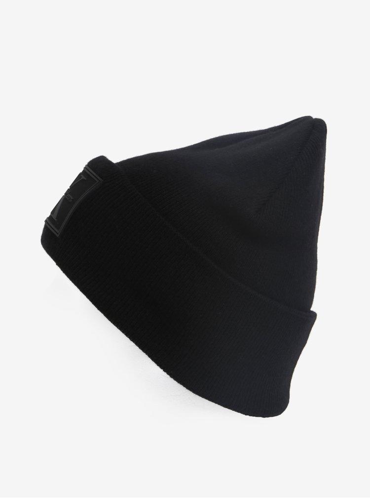 Černá pánská čepice Calvin Klein Jeans Re-issue