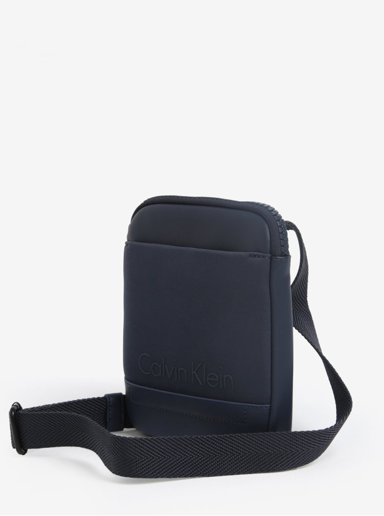 Tmavě modrá pánská crossbody taška Calvin Klein Jeans Caillou
