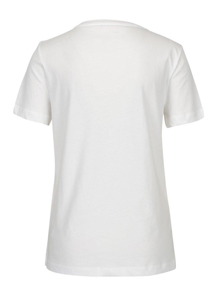 Bílé dámské tričko s potiskem Tommy Hilfiger Tommy