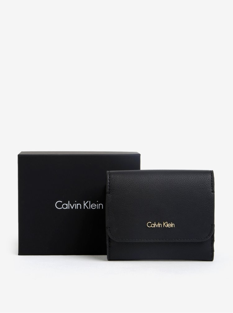 Čierna peňaženka Calvin Klein Jeans Metropolitan