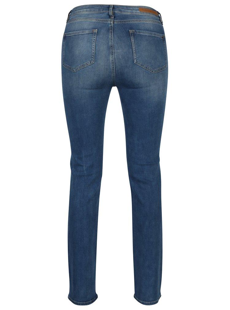 Modré dámské straight džíny Tommy Hilfiger