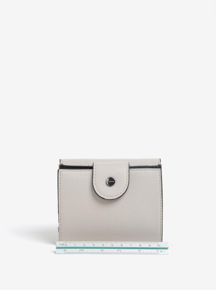 Světle šedá peněženka Calvin Klein Jeans Metropolitan
