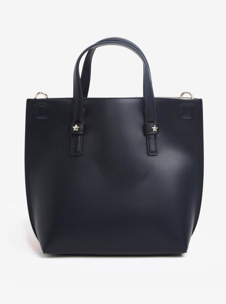 Červeno-černá kabelka s pouzdrem 2v1 Tommy Hilfiger