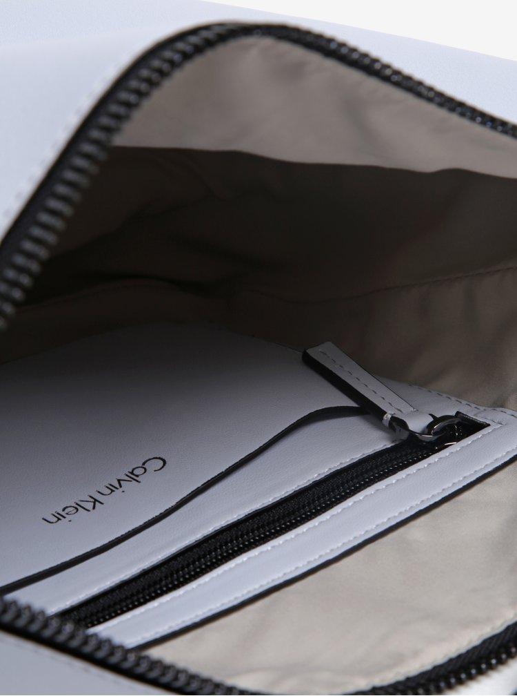 Světle šedá crossbody kabelka Calvin Klein Jeans Suave
