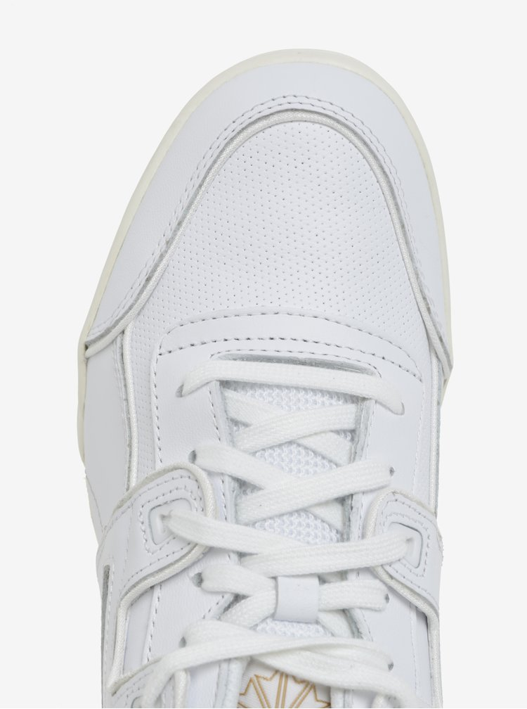 Bílé pánské kožené tenisky Reebok Workout Plus ALR