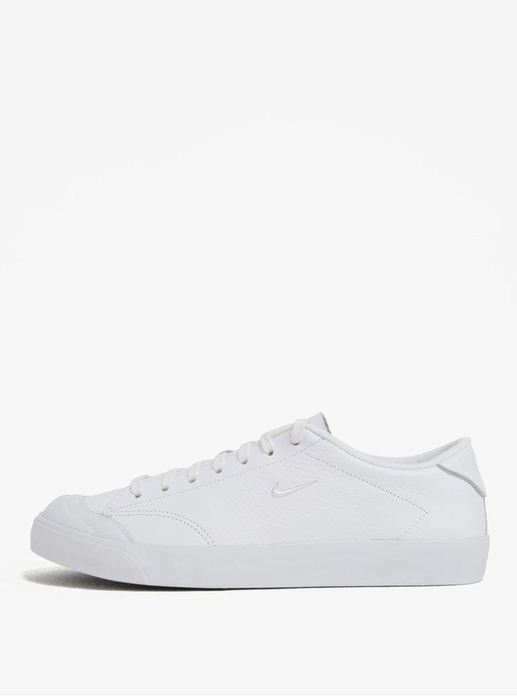 Bílé pánské kožené tenisky Nike All Court 2 Low
