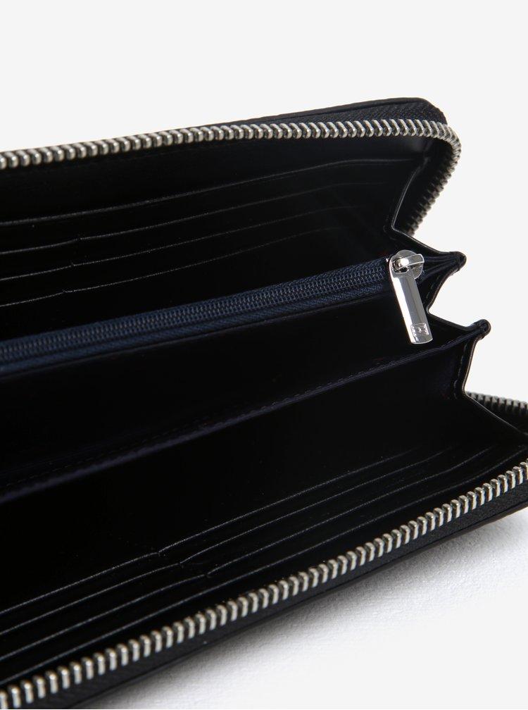 Černá dámská peněženka na zip Tommy Hilfiger
