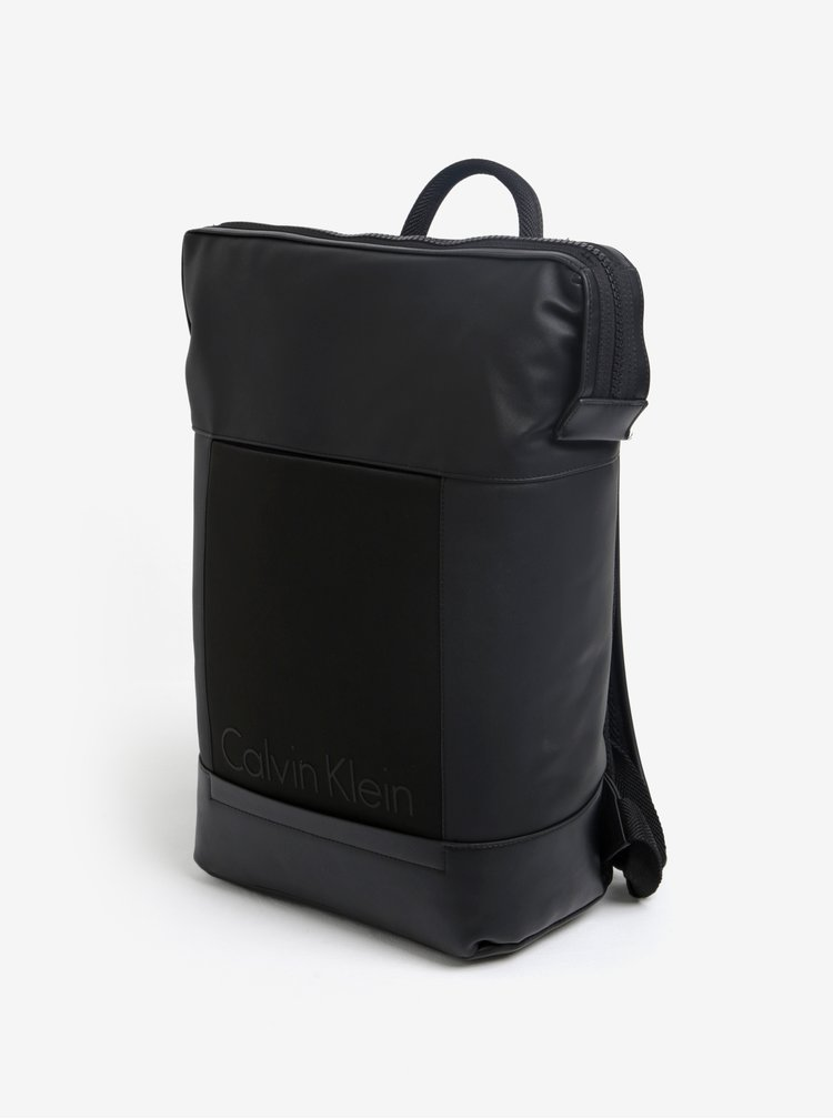 Černý batoh Calvin Klein Jeans Caillou