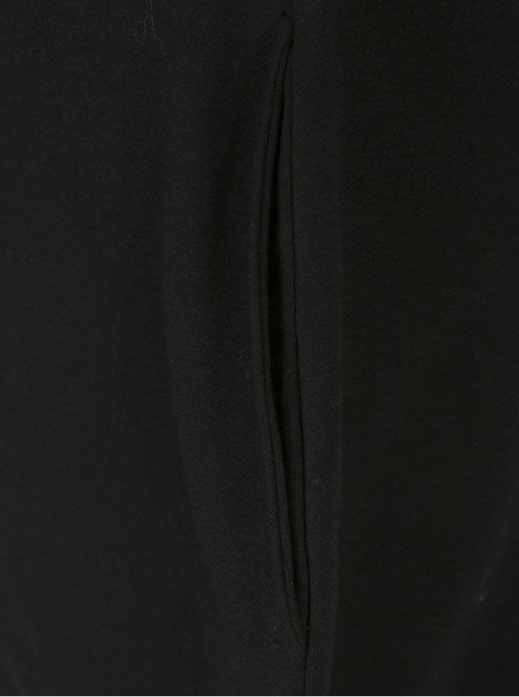 Rochie-hanorac neagra cu croi balon Mikela da Luka