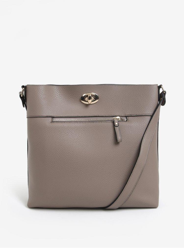 Béžová kabelka přes rameno Dorothy Perkins